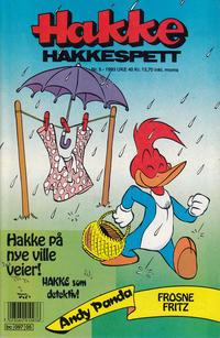 Cover Thumbnail for Hakke Hakkespett (Semic, 1977 series) #5/1993