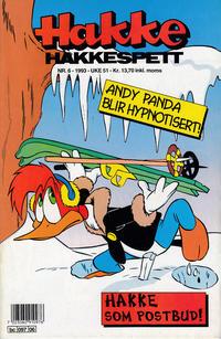 Cover Thumbnail for Hakke Hakkespett (Semic, 1977 series) #6/1993