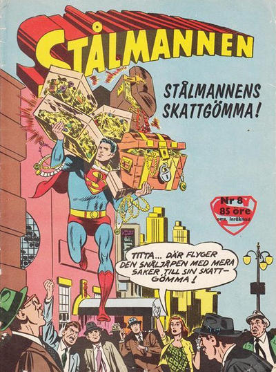 Cover for Stålmannen (Centerförlaget, 1949 series) #8/1962