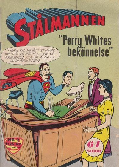 Cover for Stålmannen (Centerförlaget, 1949 series) #2/1964