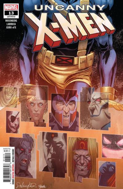 Cover for Uncanny X-Men (Marvel, 2019 series) #13 (632) [Second Printing - Salvador Larroca]