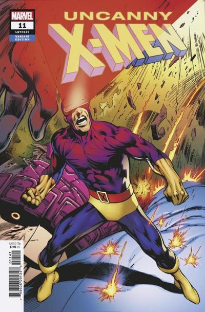 Cover for Uncanny X-Men (Marvel, 2019 series) #11 (630)