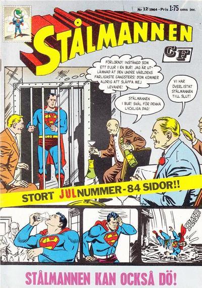 Cover for Stålmannen (Centerförlaget, 1949 series) #12/1964