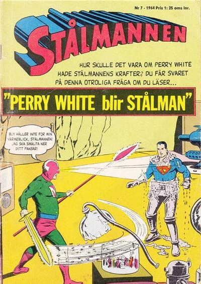 Cover for Stålmannen (Centerförlaget, 1949 series) #7/1964