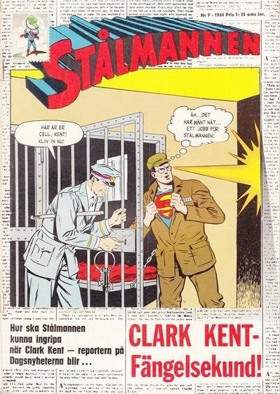 Cover for Stålmannen (Centerförlaget, 1949 series) #9/1964