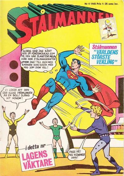 Cover for Stålmannen (Centerförlaget, 1949 series) #4/1965