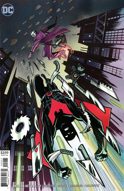 Cover for Batman Beyond (DC, 2016 series) #29 [Shawn Martinbrough Cover]