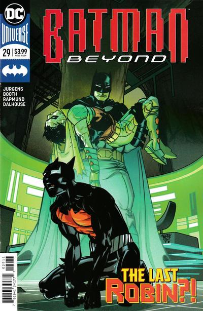 Cover for Batman Beyond (DC, 2016 series) #29