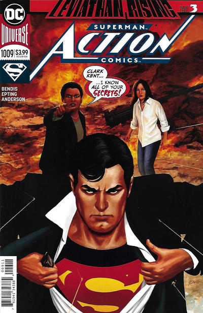 Cover for Action Comics (DC, 2011 series) #1009 [Steve Epting Cover]