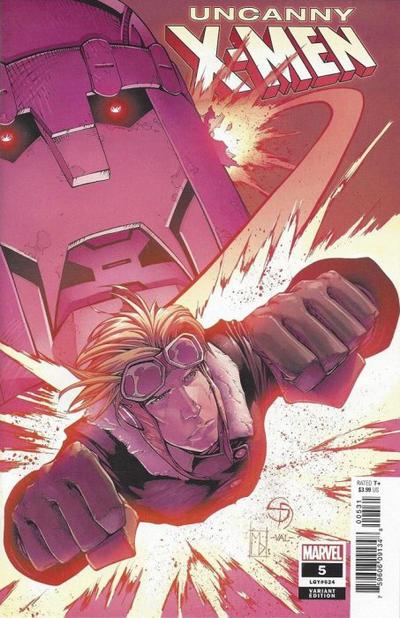 Cover for Uncanny X-Men (Marvel, 2019 series) #5 (624) [Shane Davis]