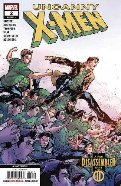 Cover for Uncanny X-Men (Marvel, 2019 series) #2 (621)