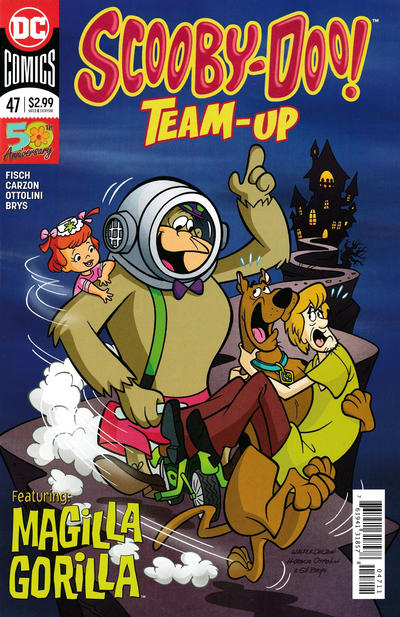 Cover for Scooby-Doo Team-Up (DC, 2014 series) #47