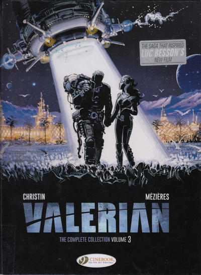 Cover for Valerian the Complete Collection (Cinebook, 2017 series) #3