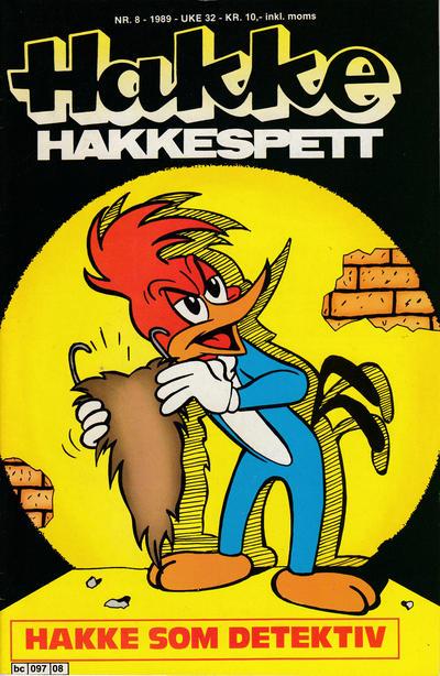 Cover for Hakke Hakkespett (Semic, 1977 series) #8/1989