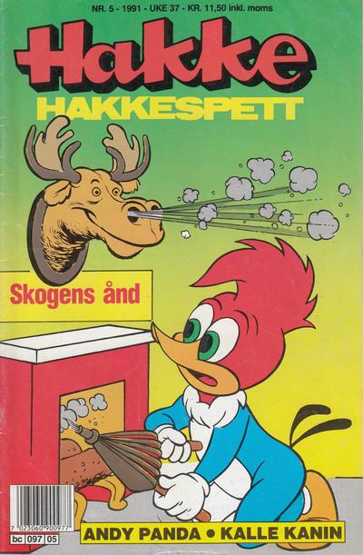 Cover for Hakke Hakkespett (Semic, 1977 series) #5/1991