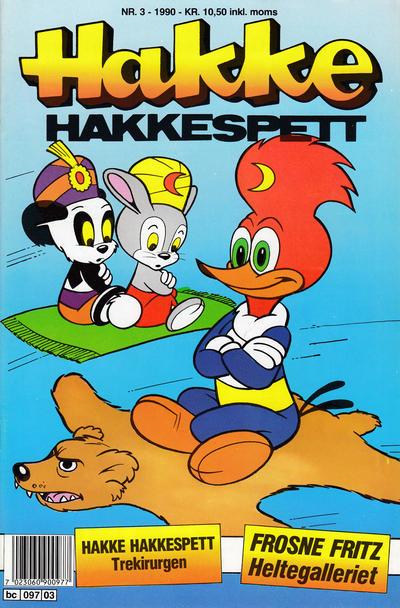Cover for Hakke Hakkespett (Semic, 1977 series) #3/1990