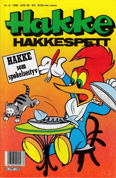 Cover for Hakke Hakkespett (Semic, 1977 series) #6/1990