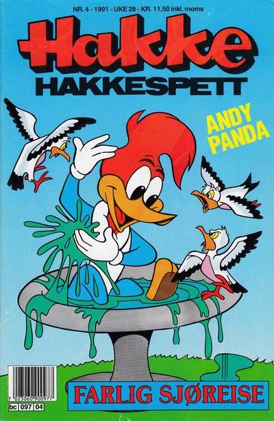 Cover for Hakke Hakkespett (Semic, 1977 series) #4/1991