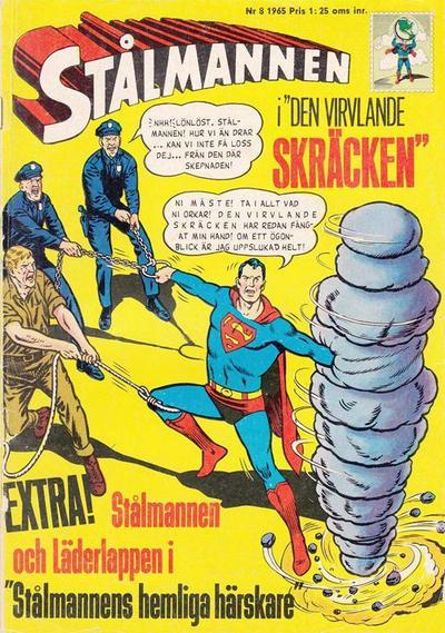 Cover for Stålmannen (Centerförlaget, 1949 series) #8/1965