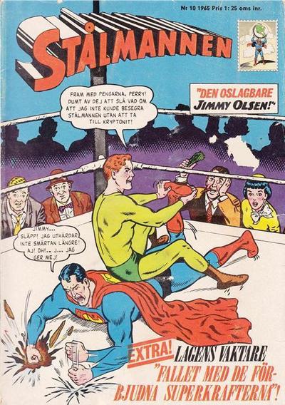 Cover for Stålmannen (Centerförlaget, 1949 series) #10/1965
