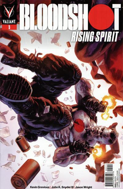 Cover for Bloodshot Rising Spirit (Valiant Entertainment, 2018 series) #5 [Cover A - Felipe Massafera]