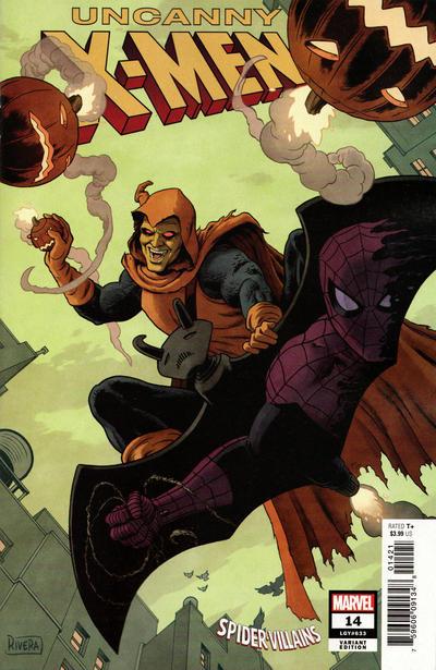 Cover for Uncanny X-Men (Marvel, 2019 series) #14 (633)
