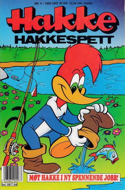 Cover for Hakke Hakkespett (Semic, 1977 series) #4/1992