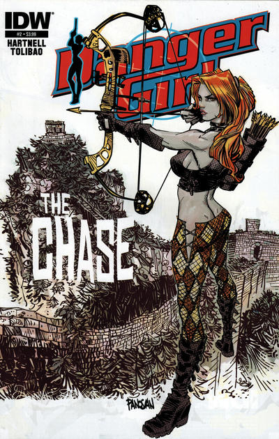 Cover for Danger Girl: The Chase (IDW, 2013 series) #2 [Subscription Cover - Photo]