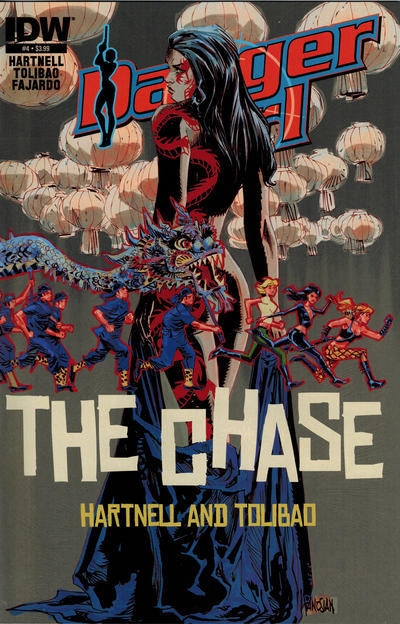 Cover for Danger Girl: The Chase (IDW, 2013 series) #4 [Dan Panosian Cover]