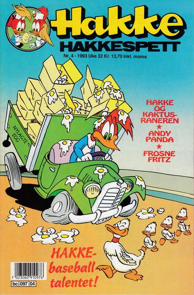 Cover for Hakke Hakkespett (Semic, 1977 series) #4/1993