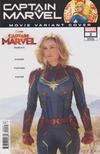 Cover for Captain Marvel (Marvel, 2019 series) #2 [Photo 'Movie Variant' Cover]