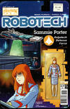 Cover for Robotech (Titan, 2017 series) #19 [Cover B - Blair Shedd 'Action Figure']
