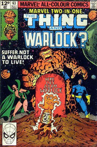 Cover Thumbnail for Marvel Two-in-One (Marvel, 1974 series) #63 [British]