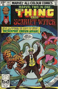 Cover Thumbnail for Marvel Two-in-One (Marvel, 1974 series) #66 [British]