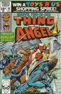 Cover Thumbnail for Marvel Two-in-One (Marvel, 1974 series) #68 [British]