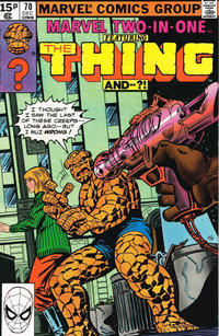 Cover Thumbnail for Marvel Two-in-One (Marvel, 1974 series) #70 [British]