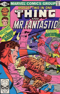 Cover Thumbnail for Marvel Two-in-One (Marvel, 1974 series) #71 [Direct]