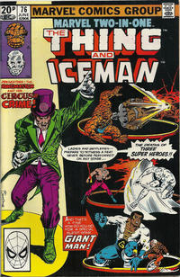 Cover Thumbnail for Marvel Two-in-One (Marvel, 1974 series) #76 [British]