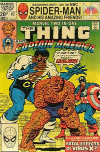 Cover Thumbnail for Marvel Two-in-One (Marvel, 1974 series) #82 [British]