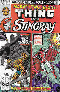 Cover Thumbnail for Marvel Two-in-One (Marvel, 1974 series) #64 [British]