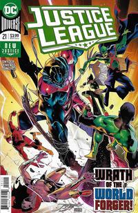Cover Thumbnail for Justice League (DC, 2018 series) #21 [Jorge Jimenez Cover]