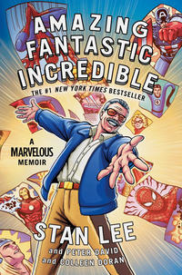 Cover Thumbnail for Amazing Fantastic Incredible: A Marvelous Memoir (Simon and Schuster, 2019 series)