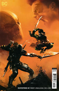 Cover Thumbnail for Deathstroke (DC, 2016 series) #42 [Francesco Mattina]