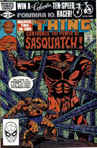Cover Thumbnail for Marvel Two-in-One (Marvel, 1974 series) #83 [Direct]