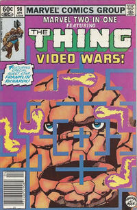 Cover Thumbnail for Marvel Two-in-One (Marvel, 1974 series) #98 [Newsstand]