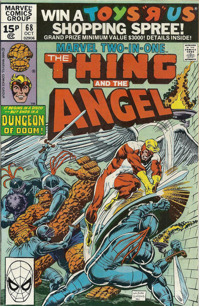 Cover for Marvel Two-in-One (Marvel, 1974 series) #68 [British]