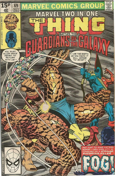 Cover for Marvel Two-in-One (Marvel, 1974 series) #69 [Newsstand]