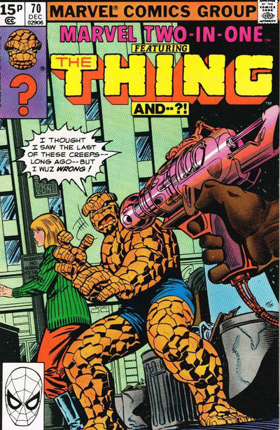Cover for Marvel Two-in-One (Marvel, 1974 series) #70 [Direct]