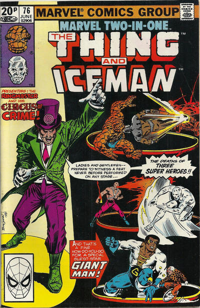 Cover for Marvel Two-in-One (Marvel, 1974 series) #76 [Newsstand]