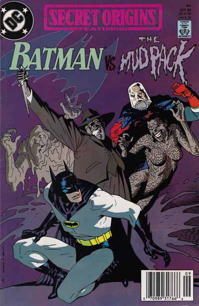 Cover for Secret Origins (DC, 1986 series) #44 [Direct]